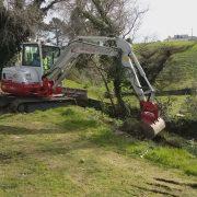 3 Excavacion y formación de camino